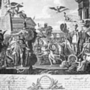 Treaty Of Ghent, 1814 Poster