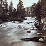 Truckee River - California - C 1865 Poster