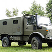 Unimog Truck Of The Belgian Army Poster