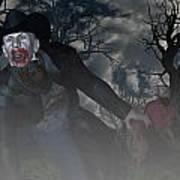 Vampire Cowboy Poster