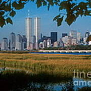 View From Liberty State Park Poster