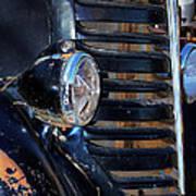 Vintage Car Grill Poster