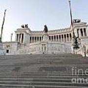 Vittoriano Monument To Victor Emmanuel II. Rome Poster