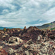 Volcano Batur Poster
