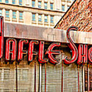 Waffle Shop Poster