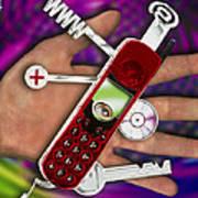 Wap Mobile Telephone Poster
