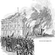 Washington Burning, 1814 Poster