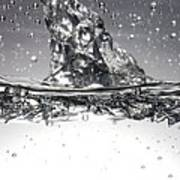 Water, High-speed Photograph Poster