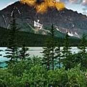 Waterfowl Lake Poster