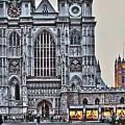 Westminster Abbey And  Victoria Tower Poster
