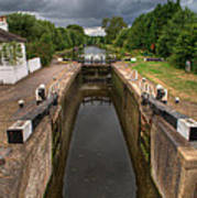 Wide Water Lock Poster