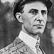 Wilbur Wright, Us Aviation Pioneer Poster