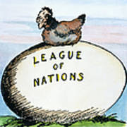 Wilson: League Of Nations Poster by Granger