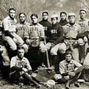 Yale Baseball Team, 1901 Poster