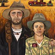 Zeb And Ellen Poster