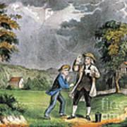 Benjamin Franklin American Polymath Poster