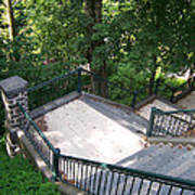 100 Steps At The Wissahickon Poster