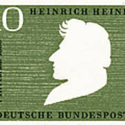 Heinrich Heine (1797-1856) Poster
