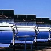 Solar Power Plant, California, Usa Poster