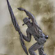 11th Mississippi Infantry Regiment At Gettysburg Poster