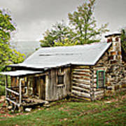 1209-1144 Historic Villines Homestead Poster by Randy Forrester