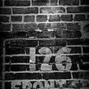 126 Front Street Poster