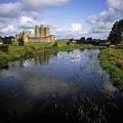 12th Century Trim Castle, On The River Poster