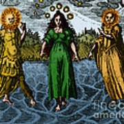 Alchemy Illustration Poster