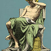 Aristotle, Ancient Greek Philosopher Poster
