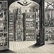 1788 Richard Greene's Museum At Lichfield Poster
