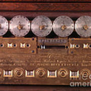 17th Century Calculating Machine Poster