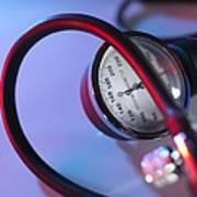 Blood Pressure Gauge Poster