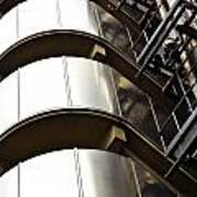 Lloyd's Building London  Poster