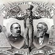 1888 Democratic Presidential Campaign Poster