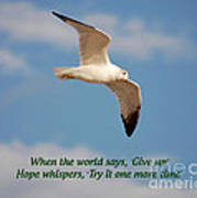 19- Hope Whispers Poster