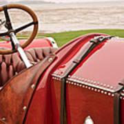 1911 Fiat S61 Steering Wheel Poster