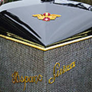 1912 Hispano-suiza 15-45 Hp Alfonso Xiii Jaquot Torpedo Grille Poster
