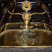 1915 Model-t Ford Hood Ornament Poster