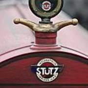 1916 Stutz Series B Bearcat Hood Ornament Poster