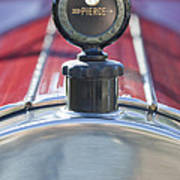1919 Pierce-arrow Model 48 Dual Valve Roadster Hood Ornament Poster
