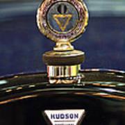 1920 Hudson Super 6 Touring Hood Ornament Poster