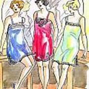 1920s Teddies Poster