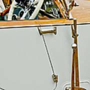 1925 Rolls-royce Phantom I Barker Sports Torpedo Tourer Steering Wheel Poster