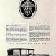 1928 Packard Poster