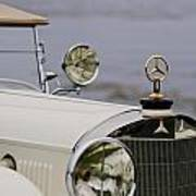 1929 Mercedes-benz S Tourer Hood Ornament Poster