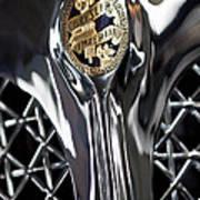 1931 Chrysler Cg Imperial Roadster Hood Emblem Poster
