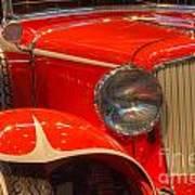 1931 Cord Automobile Poster