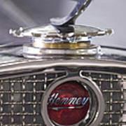 1931 Henney 2-passenger Convertible Hood Ornament Poster