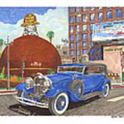 1931 Lincoln K Dietrich Phaeton Poster