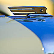 1931 Marmon Sixteen Convertible Coupe Hood Ornament Poster